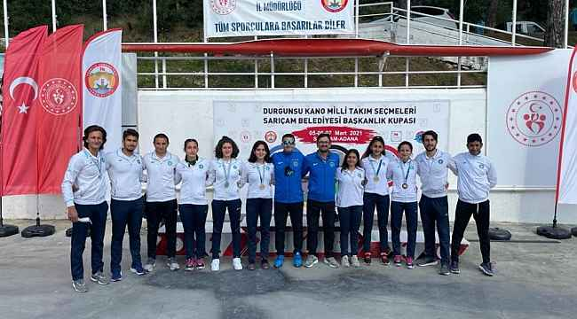 Bursa Büyükşehir Belediyespor Kano Takımı'ndan büyük başarı - Bursa Haberleri