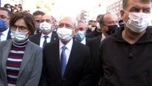 CHP Lideri Kılıçdaroğlu Avcılar'da kentsel dönüşüm çalışmalarını inceledi