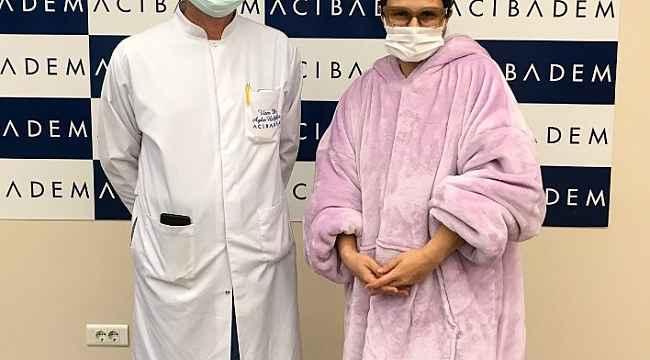 Covid-19 tedavisi gören Selin Yeninci taburcu oldu