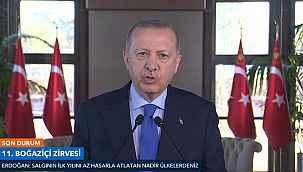 """Cumhurbaşkanı Erdoğan'dan büyüme mesajı: """"Çin'den sonra 2. sıradayız"""""""