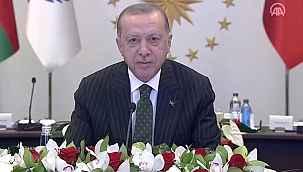 Cumhurbaşkanı Erdoğan'dan Ekonomik İşbirliği Teşkilatı'nda önemli açıklamalar