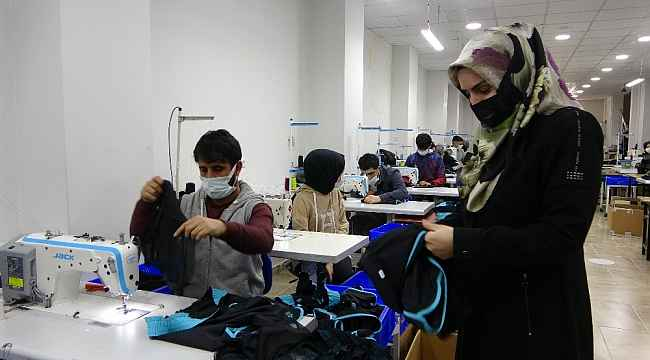 Devlet desteğiyle işini kuran kadın girişimci 50 kişiye istihdam sağladı