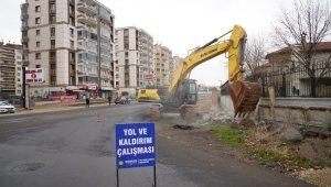 Diyarbakır'da caddeler yenileniyor