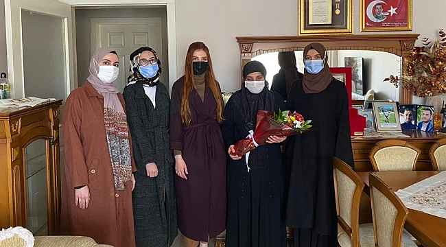 Erzincan Barosundan şehit annelerine ziyaret