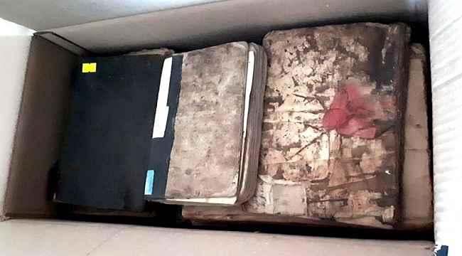 Giresun'da el yazması eserler Diyanet İşleri Başkanlığı Merkez Kütüphanesi'ne teslim edildi