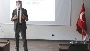 Gönen'de İşletmelere pandemi bilgilendirme toplantısı yapıldı