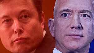 İki dev arasında bir 'kan davası'... Elon Musk Jeff Bezos'a karşı