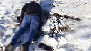 İran sınırında donmuş erkek cesedi bulundu