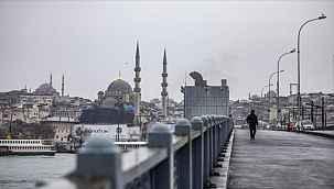 İstanbul'da hafta sonu sokağa çıkma kısıtlaması cumartesi için kalktı, pazar günü devam edecek