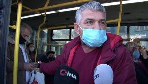 """İstanbul'da fazla yolcu taşıyan minibüsçü: """"Tekrar fazla yolcu alacağım"""""""