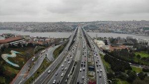 İstanbul'da trafik yoğunluğu yüzde 78'lere çıktı