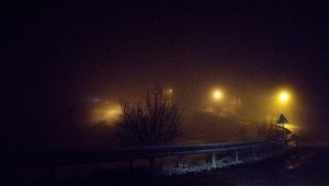 Kastamonu'da kar yağışı ve sis ulaşımı olumsuz etkiliyor