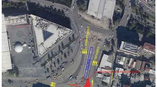 Kent Meydanı'nda trafik düzenlemesi - Bursa Haberleri