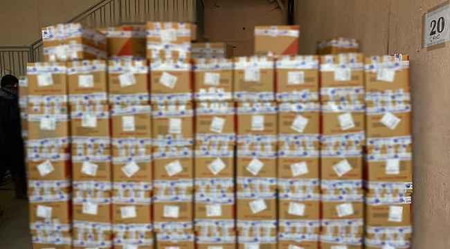 Konya'da 26 ton sahte deterjan ele geçirildi