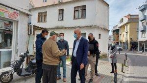 Marmaris Kaymakamı Aksoy ilçede denetime çıktı