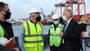 MDTO, limanın genişleme projesinde Atatürk Parkının önünün kapatılmasını istemiyor