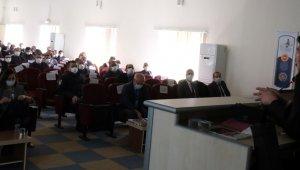 Mut'ta AFAD'dan tarafından eğitim toplantısı