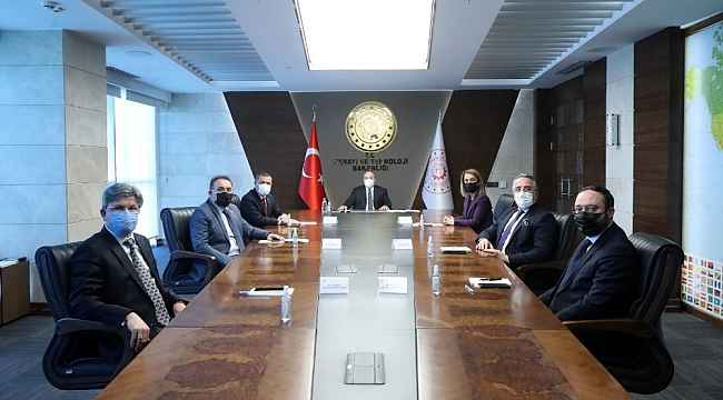 Nevşehir heyetinden Bakan Varank'a ziyaret