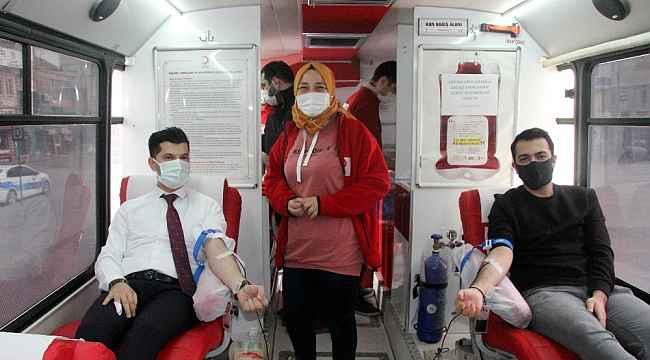 """""""İyiki varsın kan dostum"""" kampanyasına destek"""