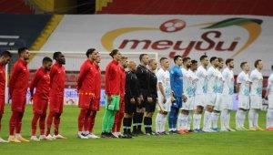 Süper Lig: Kayserispor: 0 - Çaykur Rizespor: 0