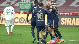 Süper Lig: Konyaspor: 0 - Fenerbahçe: 3