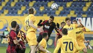 Süper Lig: MKE Ankaragücü: 0 - Galatasaray: 0