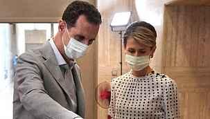 Suriye Devlet Başkanı Esed ve eşi koronavirüse yakalandı