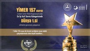 YİMER 157, Dünya Çağrı Merkezleri Yarışmasında 1. oldu