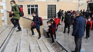 Zonguldak'ta yüz yüze eğitim başladı