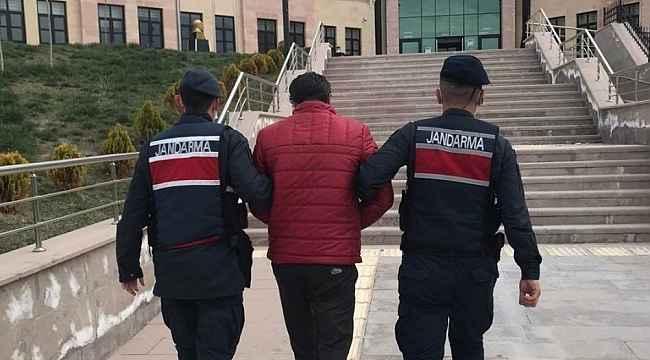 14 yıl hapis cezası ile aranan firari peribacaları içerisinde yakalandı