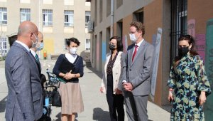 AB Türkiye Delegasyonu Başkanı Landrut, Gençler Gelecek Sizin Projesi için Mardin'e geldi