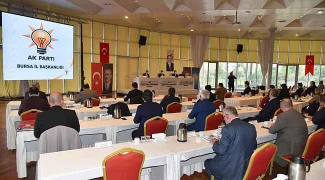 AK Parti teşkilatı Bursa'nın geleceği için bir araya geldi - Bursa Haberleri