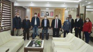 AK Parti ve MHP'den Başkanı Alp'e ziyaret