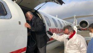 Ambulans uçak, Türk iş adamı için havalandı