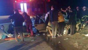 Antalya'da trafik kazası: 2 ölü, 2 ağır yaralı