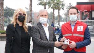 Atakum Genç Kızılay'dan kan bağışı kampanyası