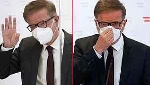 Avusturya Sağlık Bakanı gözyaşları içinde görevinden istifa etti