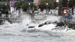 Aydın'da kuvvetli rüzgar ve fırtına bekleniyor