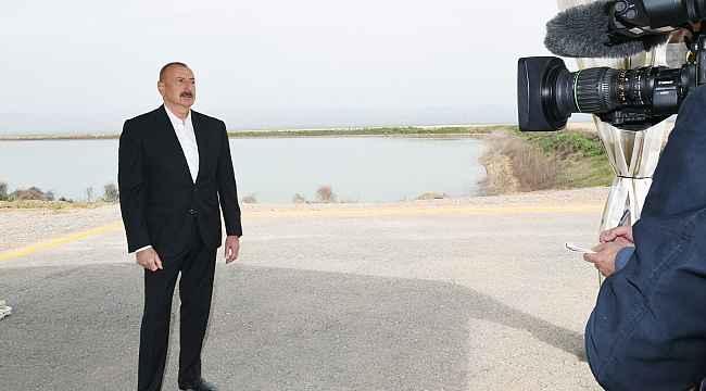 """Azerbaycan Cumhurbaşkanı Aliyev: """"İskender-M füzesi ya Ermenistan'a teslim edildi ya da Rusya'dan çalındı"""""""