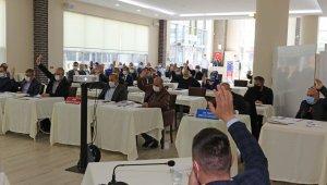 Bafra Belediyesi meclis toplantısı