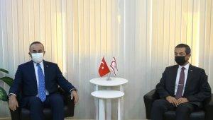"""Bakan Çavuşoğlu: """"Cenevre'de 5+BM gayri resmi toplantısında biz düşüncelerimizi açık yüreklilikle masaya koyacağız"""""""