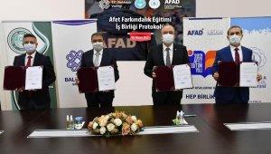 Balıkesir'de AFAD eğitimi üniversitelerde de verilecek
