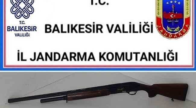 Balıkesir'de jandarmadan huzur operasyonu: 9 gözaltı