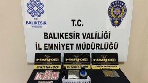Balıkesir'de polisten 2 uyuşturucu şüphelisine operasyon