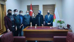 Başdanışman Oruç, gazetecilerle biraraya geldi