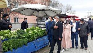 Başkan Arif Teke: ''Halk pazarımız ilçe ekonomimiz için çok önemli''