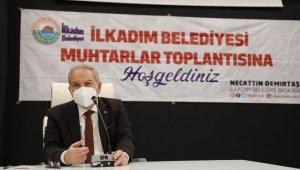 """Başkan Demirtaş: """"İlkkule' adı altında seyir kulesini ilçemize kazandıracağız"""""""