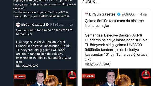 """Başkan Dündar: """"Siz laf, biz iş üretmeye devam edeceğiz"""" - Bursa Haberleri"""