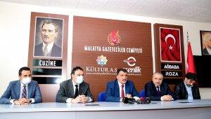 Başkan Gürkan, Gazeteciler Cemiyetini ziyaret etti