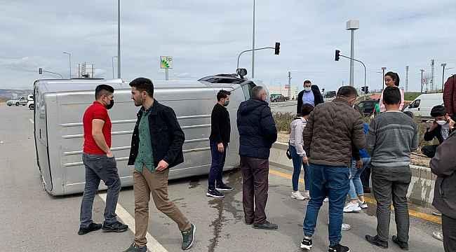 Başkent'te zincirleme trafik kazası;4 yaralı